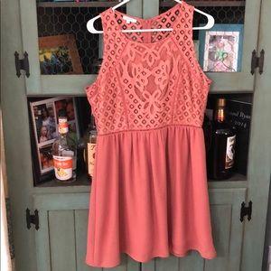 Size 9/10 coral dress